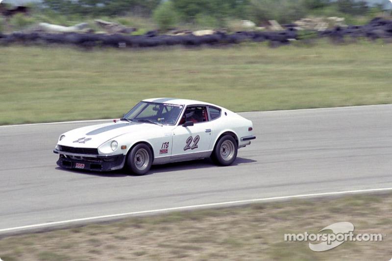 John Robinson, #22 Datsun 240Z