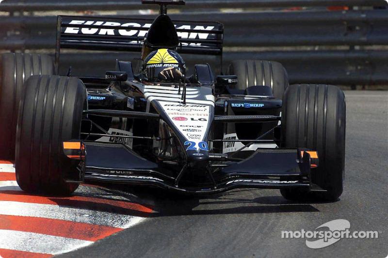2001 год: Тарсо Маркеш, Minardi. С 1 по 14 Гран При сезона