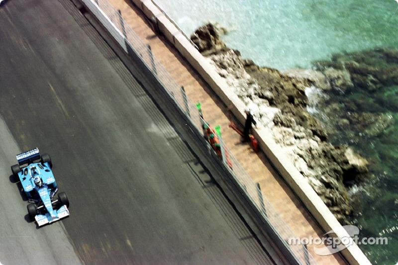 Giancarlo Fisichella en el GP de Mónaco