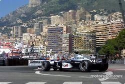 David Coulthard s'est qualifié en pole position