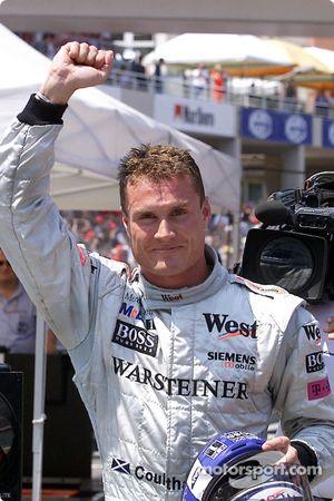 David Coulthard a décroché la 12e pole position de sa carrière
