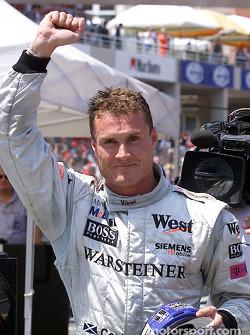 Fue la pole position número 12 en la carrera de David Coulthard