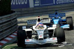 Jacques Villeneuve et Giancarlo Fisichella