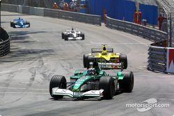 Eddie Irvine et Jarno Trulli