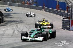 Eddie Irvine y Jarno Trulli