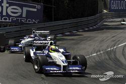 Ralf Schumacher et Juan Pablo Montoya