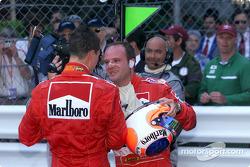 Un doblete para Michael Schumacher y Rubens Barrichello