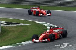 Michael Schumacher ve Rubens Barrichello
