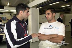 Marc Gene ve Juan Pablo Montoya