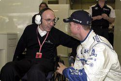 Frank Williams ve Ralf Schumacher
