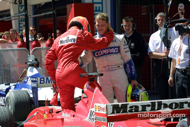 37. Austria 2001, Ferrari F2001 (con Ralf)