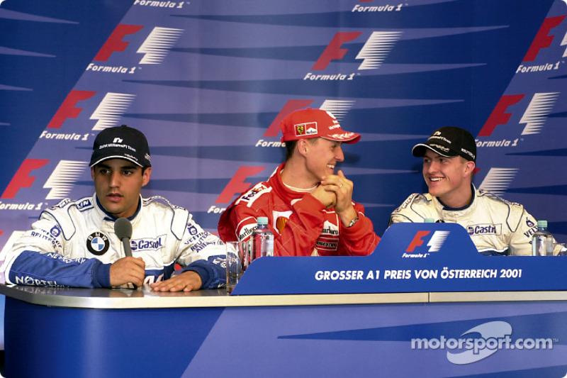 Conférence de presse : Juan Pablo Montoya, Michael Schumacher et Ralf Schumacher