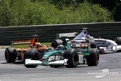 Eddie Irvine, Enrique Bernoldi ve Jacques Villeneuve