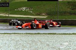 Michael Schumacher, Rubens Barrichello ve David Coulthard