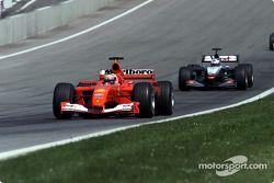 Rubens Barrichello ve David Coulthard