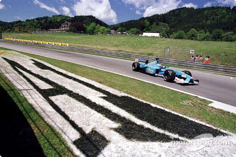 Giancarlo Fisichella en el GP de Austria