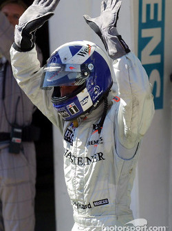 David Coulthard heureux
