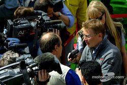 Interview avec Mika Häkkinen
