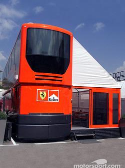 La casa rodante de Ferrari