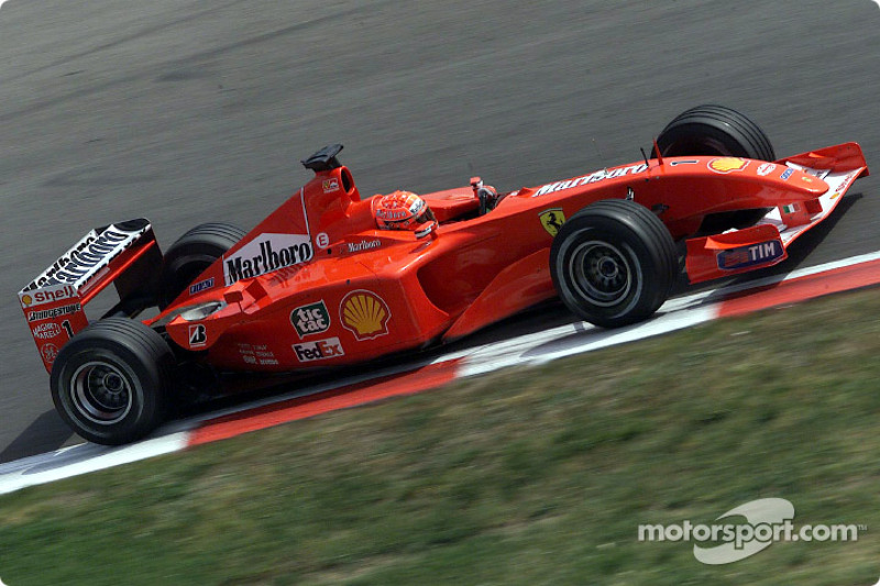 2001 Spanish GP, Ferrari F2001
