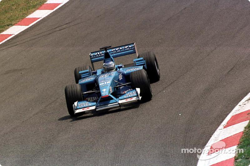 Giancarlo Fisichella en el GP de España