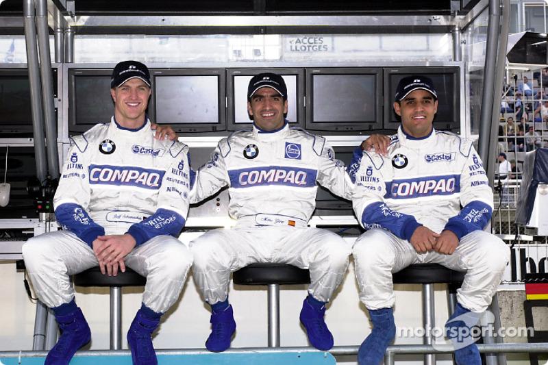 Ralf Schumacher, Marc Gené, Juan Pablo Montoya