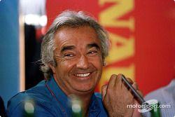 launch, Renault Sport pilotu development program: Flavio Briatore
