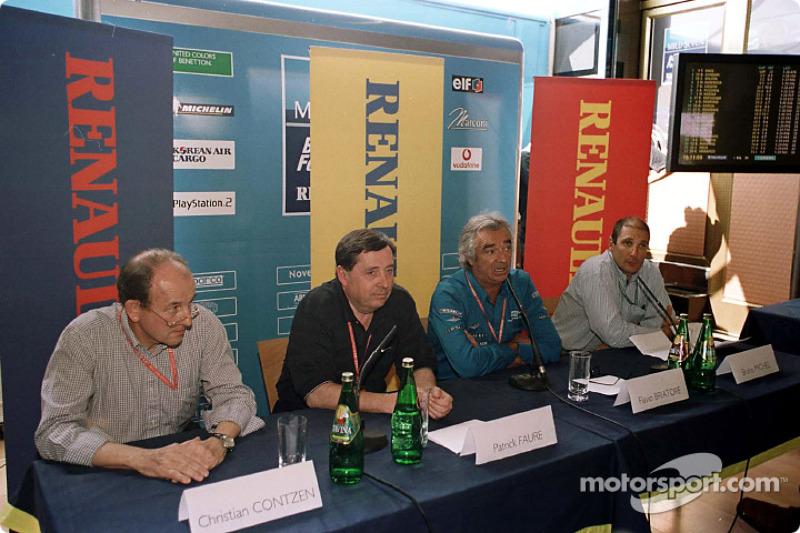 El lanzamiento del programa de desarrollo de pilotos deportivos de Renault