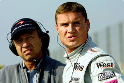 Joe Ramirez mit David Coulthard, McLaren
