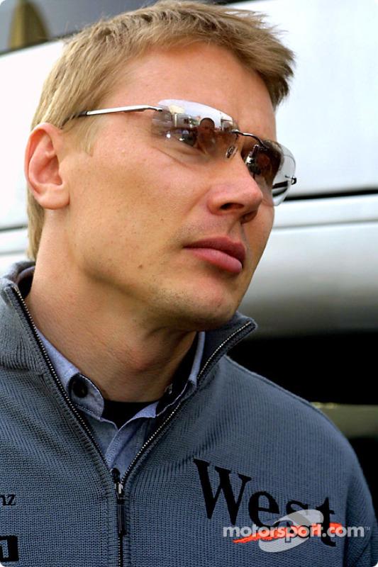 Mika Hakkinen, después de la carrera