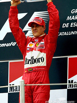 Podium: 1. Michael Schumacher, Ferrari