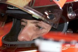 Michael Schumacher avant la course
