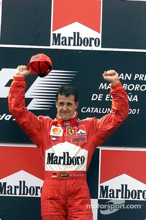 Le podium : Michael Schumacher