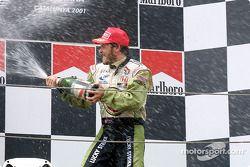 Podyum: a happy Jacques Villeneuve