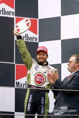 Le podium : Jacques Villeneuve