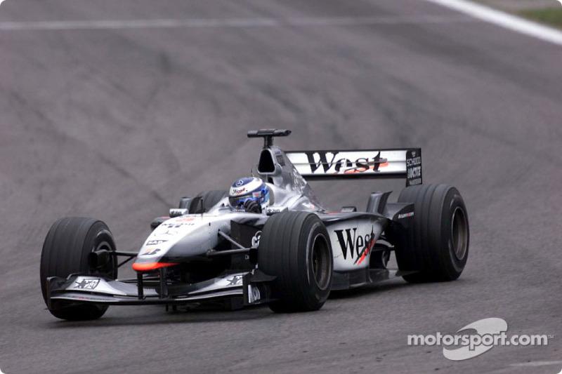 Espanha, 2001: Mika Hakkinen