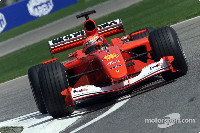 1: Michael Schumacher: 51 galibiyet (%56.04)