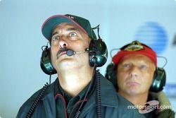 Bobby Rahal y Niki Lauda