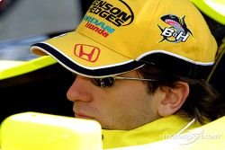 Jarno Trulli at the pitstop practice