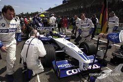 Parada de pits para Ralf Schumacher