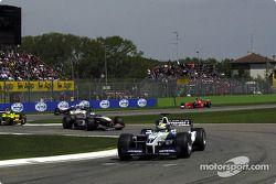 Ralf Schumacher, David Coulthard, Jarno Trulli, Mika Hakkinen ve Rubens Barrichello