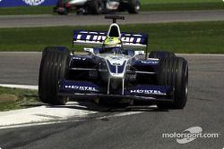 Ralf Schumacher, in top shape