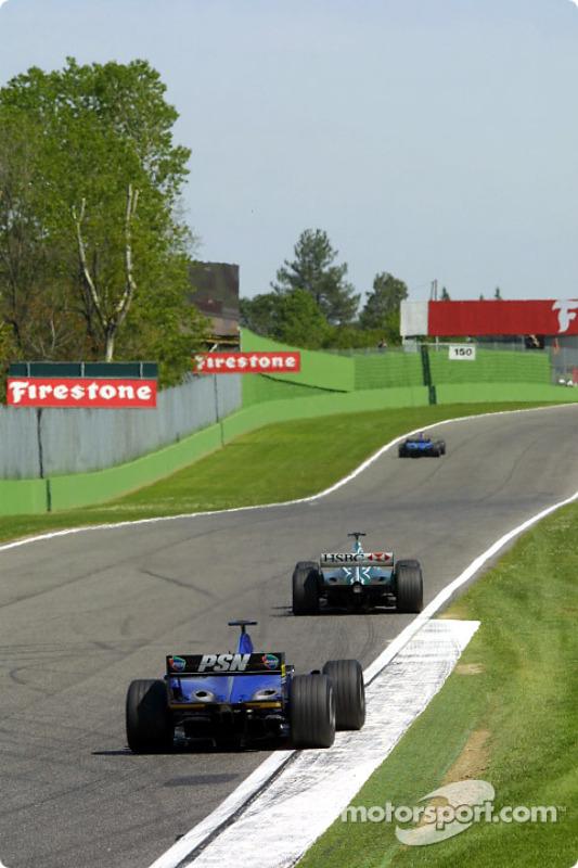 Los dos Prost y un Jaguar