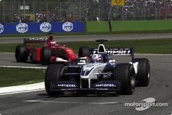 Juan Pablo Montoya and Rubens Barrichello
