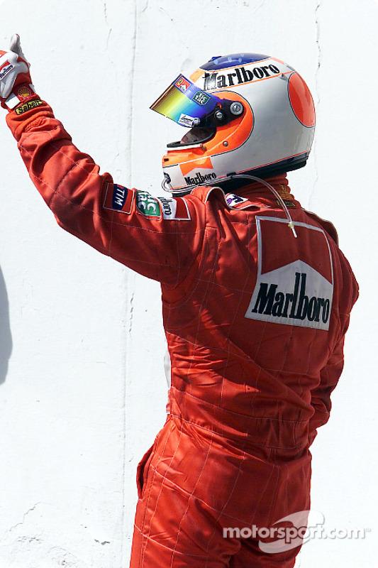 Un tercer puesto para Rubens Barrichello