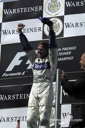A first Grand Prix victory for Ralf Schumacher