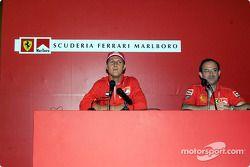 Conférence de presse Marlboro : Michael Schumacher et Claudio Berro