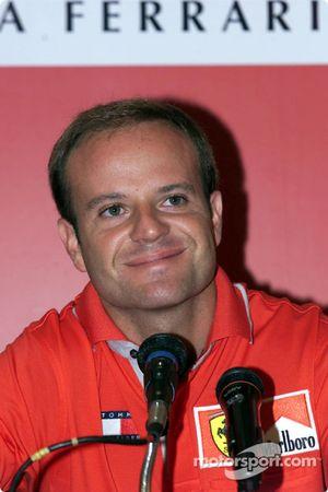 Conférence de presse Marlboro : Rubens Barrichello