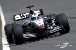 La vuelta más rápida del día por David Coulthard