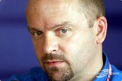 Mike Gascoyne, directeur technique de Benetton